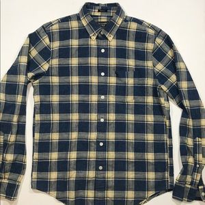 Abercrombie & Fitch L/S Plaid Muscle Fit Shirt L